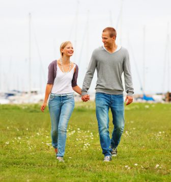 Myths About Men And Commitment - Couple Holding Hands