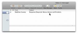 Bonus Confirmation Email