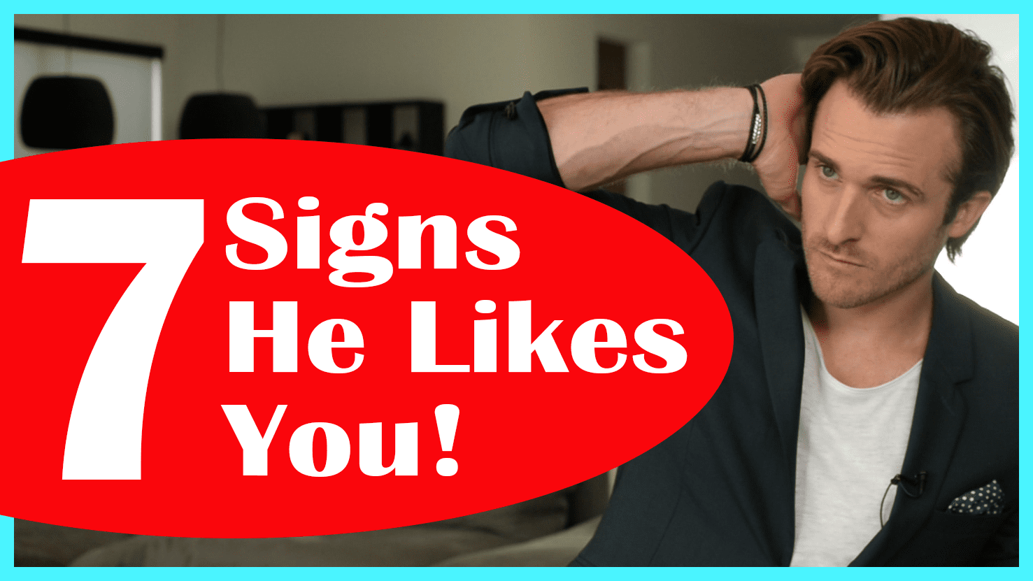 signs a gay man likes you