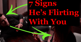 flirting signs he likes you will know jesus