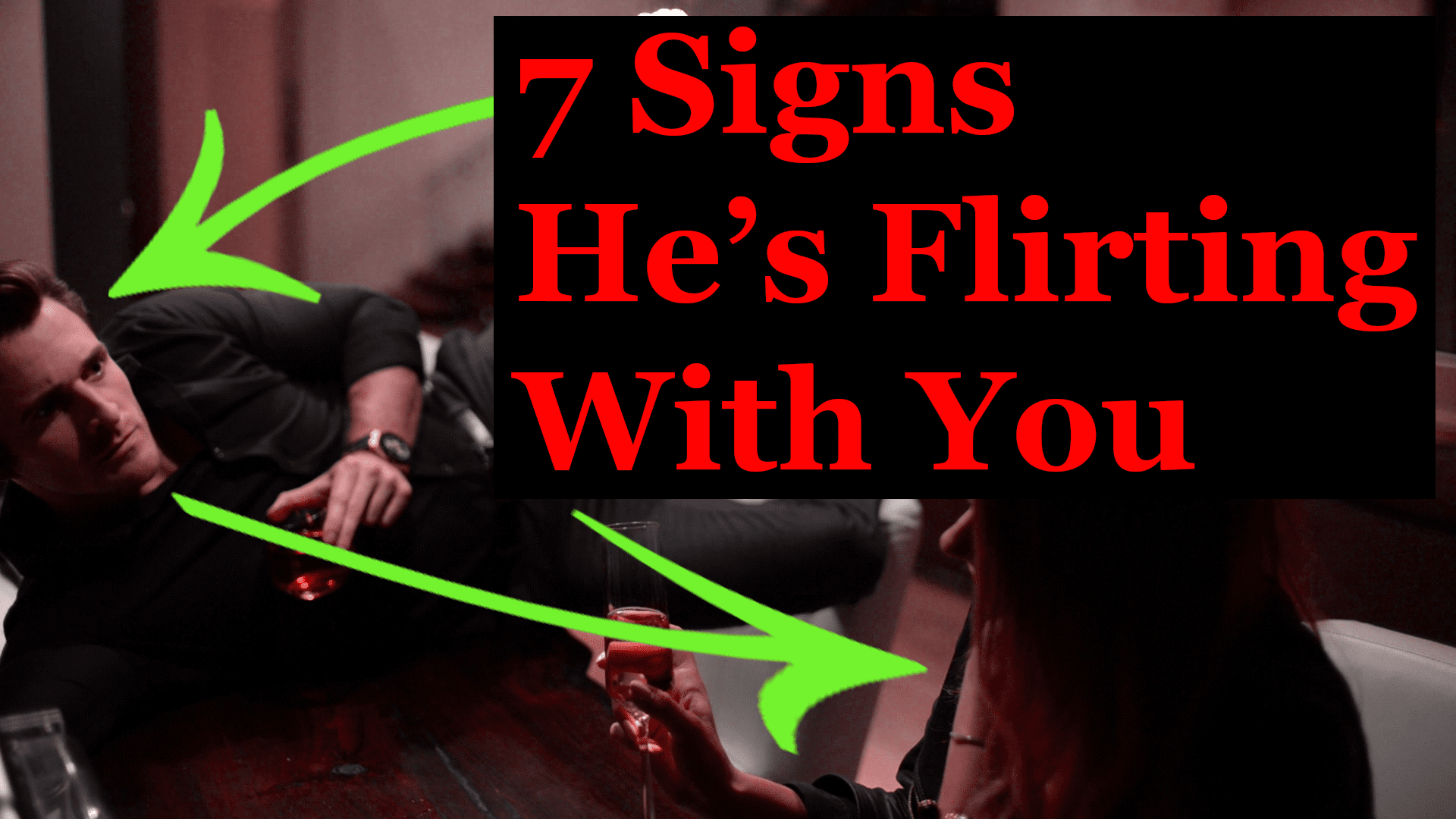 How to know if hes flirting