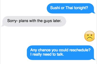 what to text my boyfriend to make him hard