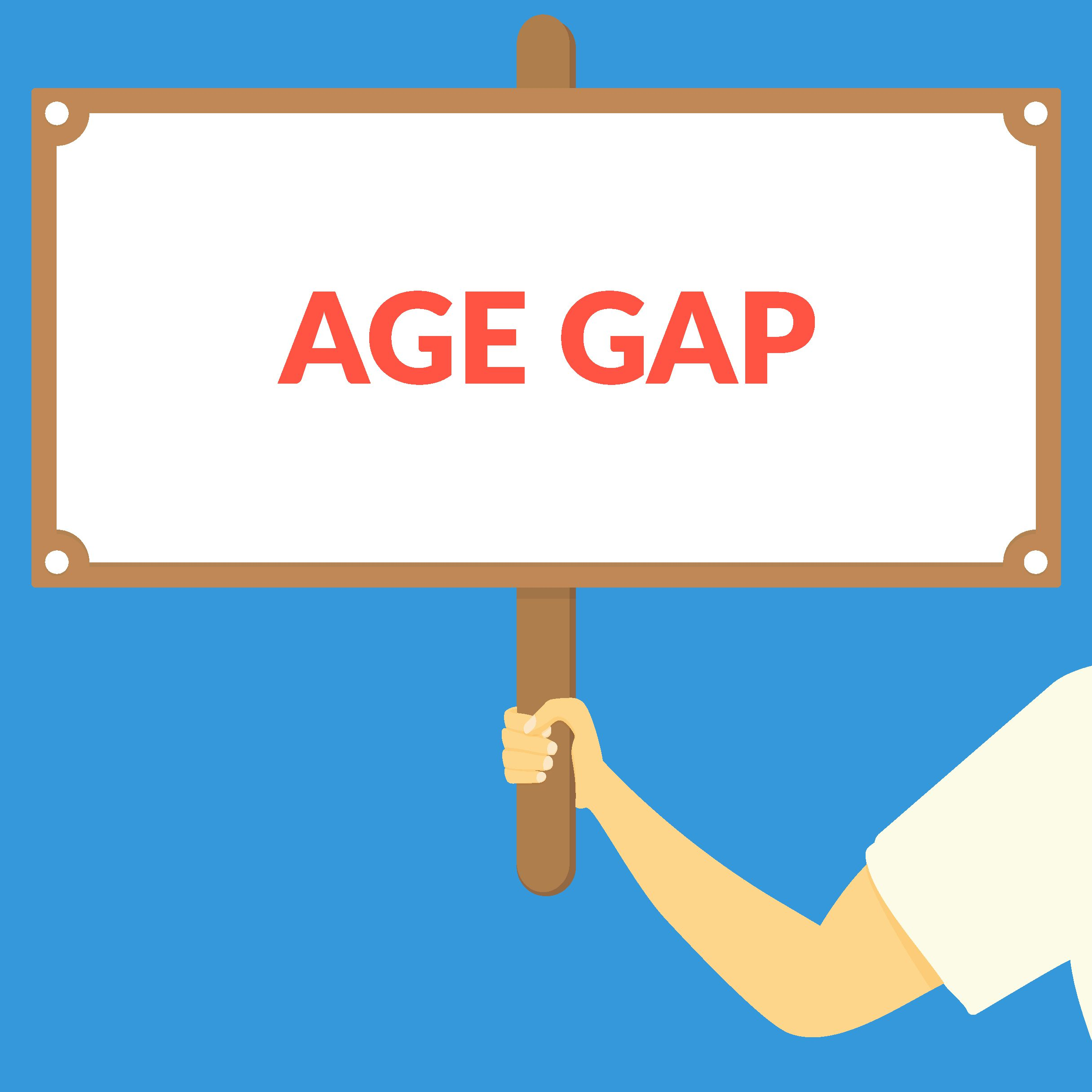 Age gaps in dating what acceptable